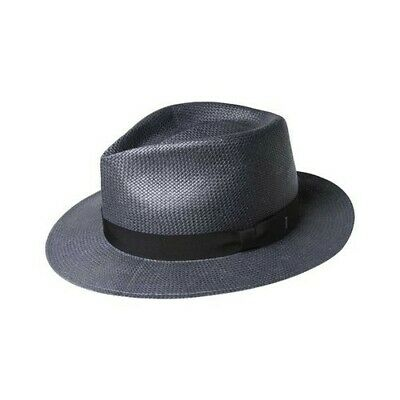 d4fdf5a77a1ac  245 Bailey Of Hollywood Men s Gray Pencer Fedora Litestraw Straw Hat Size L