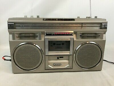 Vintage Panasonic RX-5110 AM/FM Cassette Boombox Ghetto Blaster Tested Works