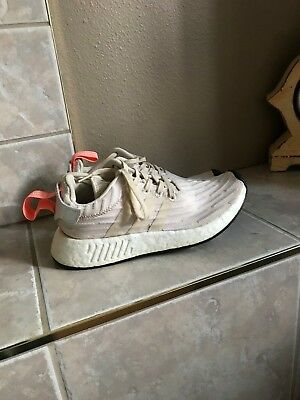 dae6c2c712540 ADIDAS NMD R2 NOMAD Runner BY9914 Crystal White Size 12 - BRAND NEW ...