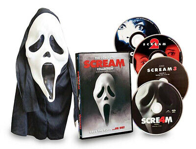 Scream Complete Collection (Scream 1,2,3,4) (With Mask) (Boxset) (Dvd)