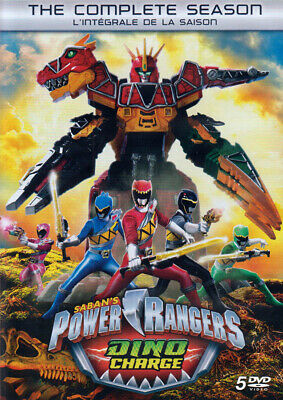 Power Rangers - Dino Charge (The Complete Season) (Bilingual) (Dvd)