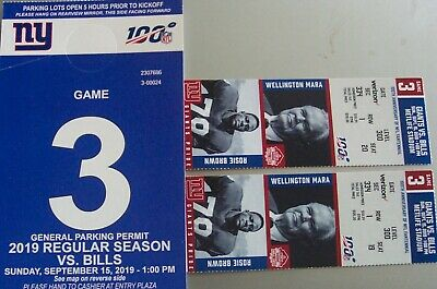 8bdadd9cb36 DALLAS COWBOYS VS NY Giants 9/8 1 Ticket FRONT ROW, ROW 1 Goal Line ...