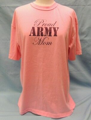 7ab2fc41 NWOT Rothco 'Proud Army Mom' Pink T-Shirt Size MED. 60%
