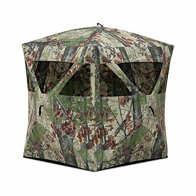 Fully Assembled Radar Pop Up Portable Blind w/ Easy to Use Five-hub Design