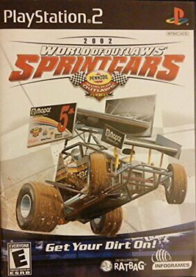 World of Outlaws Sprint Cars 2002 with 12 Real World Tracks for PlayStation 2
