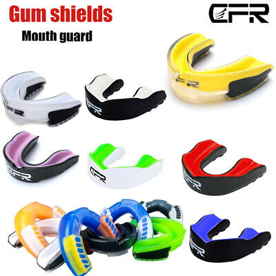 Boxing Gum Shield MMA Dental Mouth Guard Grinding Teeth Protection Junior Senior