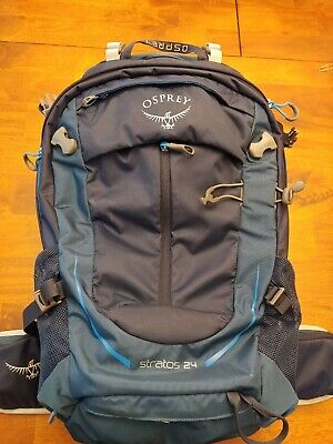 db3c06787 OSPREY STRATOS 24 Mens Backpack Hiking - Eclipse Blue One Size ...