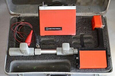 Metrotech Model 810 pipe wire cable Locator set Wand and Transmitter