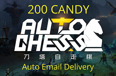 Dota2 AutoChess Auto Chess 200 Candy Code CDKEY KEY Email Delivery !