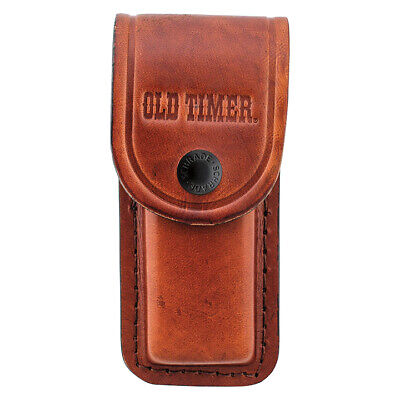 NEW LS2 Old Timer Large Leather Sheath Brown