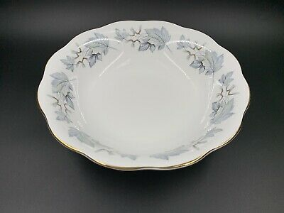 Royal Albert Silver Maple Around Vegetable Serving Bowl Bone China England