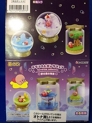 6 Types Terrarium Collection The Story of Fountain of Dreams Kirby Super Star