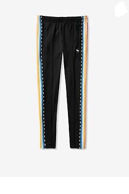 b966ab3c15eac VICTORIA SECRET PINK track pant Rainbow In Black - £29.99 | PicClick UK