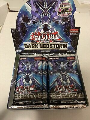 24x Dark Neostorm Booster Packs BRAND NEW 100% authentic read description