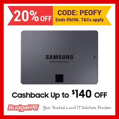 [With Cash Back] Samsung 860 QVO 4TB SATA III 2.5 inch Quality and Value Optimis
