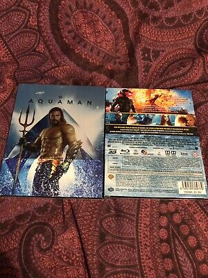 Aquaman (Bluray 3D) FAC Limited Collectors Edition Steelbook New Sealed