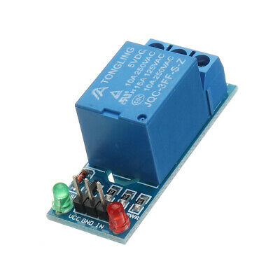 5V 1 Channel Relay Module Interface Board 220V for Arduino PIC AVR DSP ARM MCU