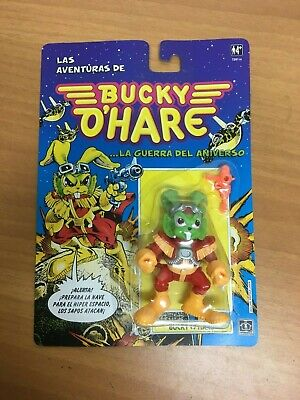 VINTAGE ACTION FIGURE BUCKY O'HARE 1991 hasbro NEW OLD STOCK