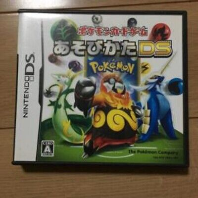 Nintendo DS Pokemon Card Game Asobikata Japan NDS