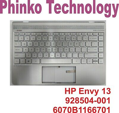Upper Case Cover Palmrest Keyboard for HP Envy 13 Series 6070B1166701 928504-001