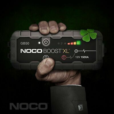 NOCO GB50 Boost XL 1500 Amp 12V UltraSafe Lithium Jump Starter