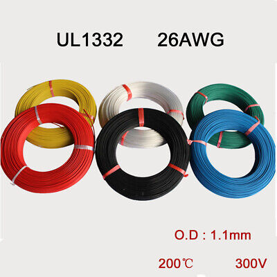 UL1332 26AWG Polytetrafluoro Stranded Wire FEP Insulation Tinned Copper Cable