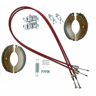 Brake Shoe & Cable Refurb Kit for Indespension 1500kg Tow-a-van Box Van Trailer