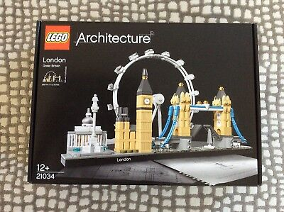 BRAND NEW Lego Architecture 21034 London Skyline Building, Sealed