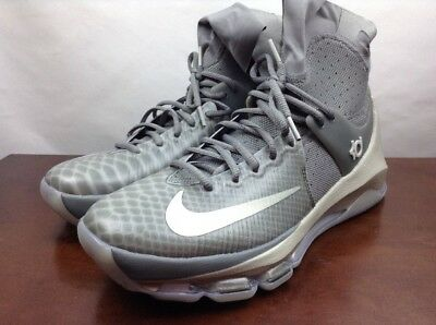 size 40 f757e 6e3bd New Nike KD 8 VIII Elite High sleeve Grey Size 8.5 834185-001 kobe