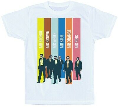 Reservoir Dogs Mr Blonde Brown White Nice Guy Eddie Cabot Funny White T-Shirt
