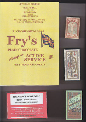 Ww1 British Pack Fillers Wrapper And Boxes Set (Repro)