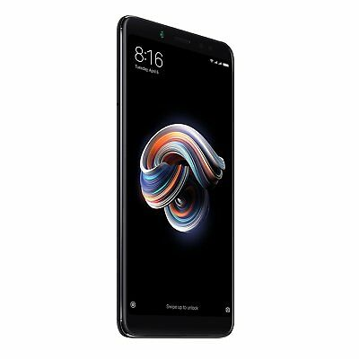 Xiaomi Redmi Note 5 64 Gb Nero Black Global 4Gb Ram Banda 20 Dual Sim Grado C