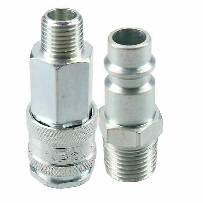 "PCL XF Series Female Coupler 1/4"" BSP Male Thread & Male Air Adaptor Fitting"