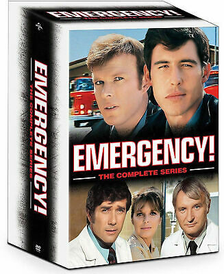 Emergency Complete TV Series DVD Seasons 1 - 6 + Final Rescues Box Set sealed