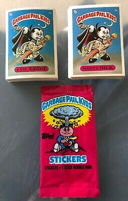 Garbage Pail Kids 1st Series 1985 UK PACK FRESH SET A & B Complete (82)