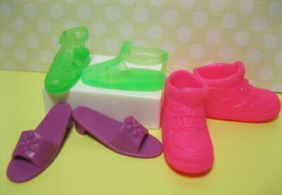 SKIPPER ~ SHOES BABY SITTER INC DOLL FLAT FOOT SKIPPER BRIGHT PINK DECK SNEAKERS