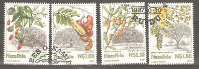 1997   Namibia  -  Sg  740 / 743  -  Trees  -  Used - (Lot A)