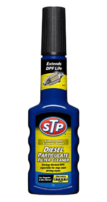 STP Diesel Particulate Filter DPF Cleaner 200ml - Removes soot/carbon particles