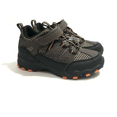 da2f185657612 RUGGED OUTBACK TODDLER Boy's Size 9 Brown Hiker Boots Kid Shoes NIB NWT
