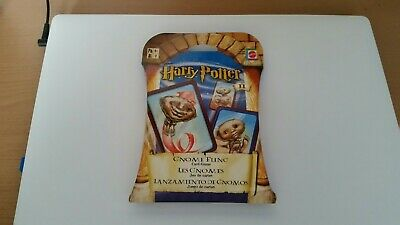 BNIB Harry Potter GNOME FLING/ toss card game NEW & SEALED by Mattel
