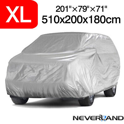 16.7ft Full SUV Car Cover Waterproof Outdoor Indoor All Weather Dust Protection