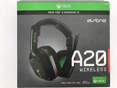 ASTRO A20 Wireless Gaming Headset for Xbox One, PS4, PC and Mac - Black/Green