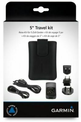 "Garmin 5"" Travel Accessory Kit World Wide Mains Charger And Carry Case"