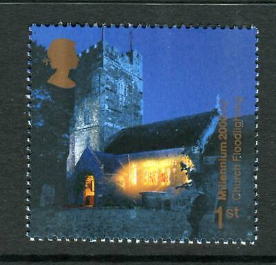 2000 GB 1st Floodlit Church. Millennium. Spirit and Faith UM. SG 2171