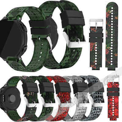 Silicone Replacement Wrist Watch Band Strap for Garmin Forerunner 735XT Watch