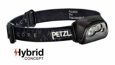 Petzl Actik Core Headlamp 350 Lumens USB - Rechargeable - Black