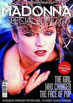 CLASSIC POP MAGAZINE 2017 PRESENTS  MADONNA SPECIAL EDITION 132 Pages NEW
