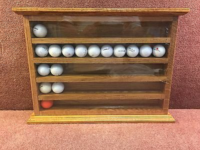 Display Case For Golf Ball , Shot Glass Or What Ever