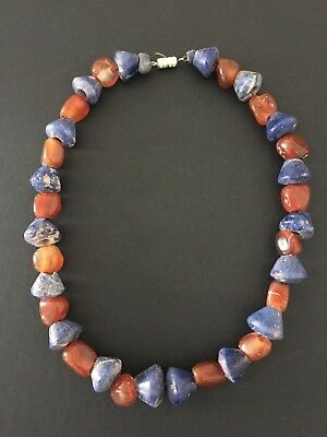 Pre-Columbian Bead Necklace Chavin Peru Circa 800 - 300 Bc