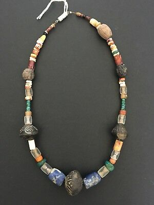 Pre-Columbian Ancient Bead Necklace Moche Culture Circa 200 - 700 AD